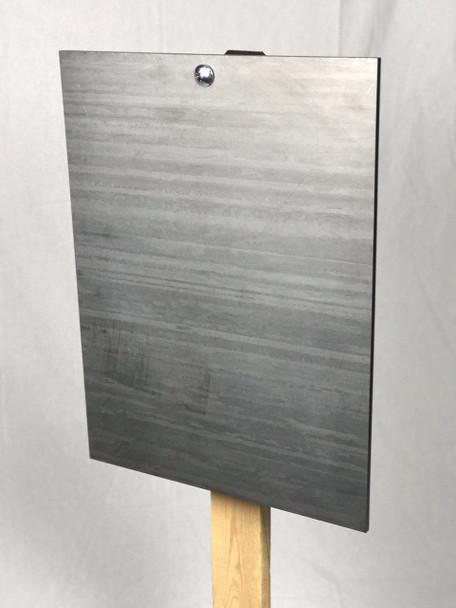 "AR500 Steel Target  3/8"" x 18"" x 24"" Gong"