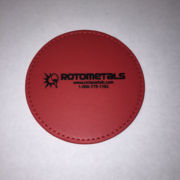 RotoMetals Coaster in Red