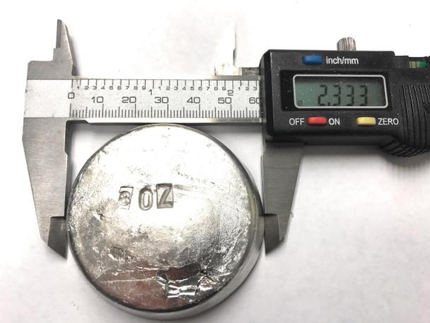 Indium 99.99% Pure 8 oz Ingot