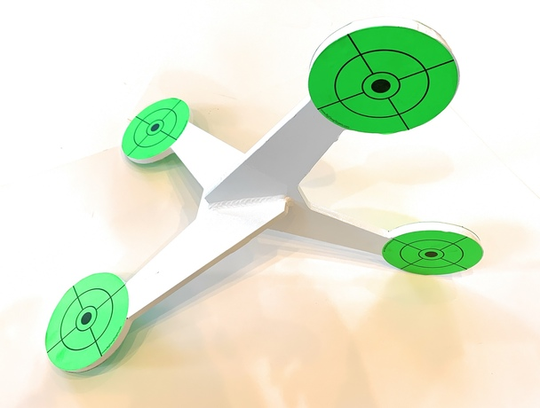 """AR500 4"""" Jumping Targets Steel Target- Made in USA"""