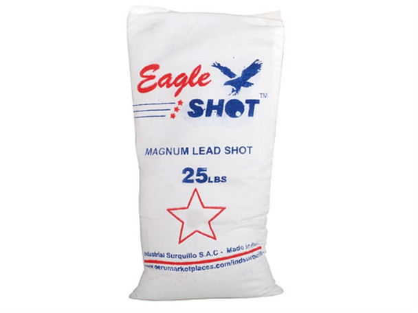 Eagle Magnum Lead Shot 25 lbs Bag