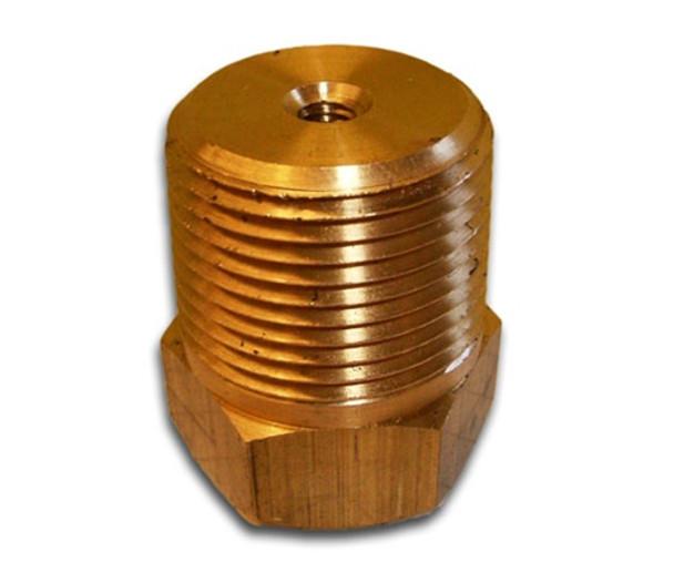 "PP-375-B ZRN-3-B 3/8"" NPT Brass Plug"