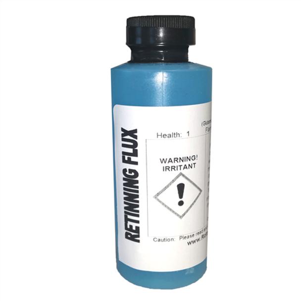 Flux for retinning copper pots 4 oz Bottle