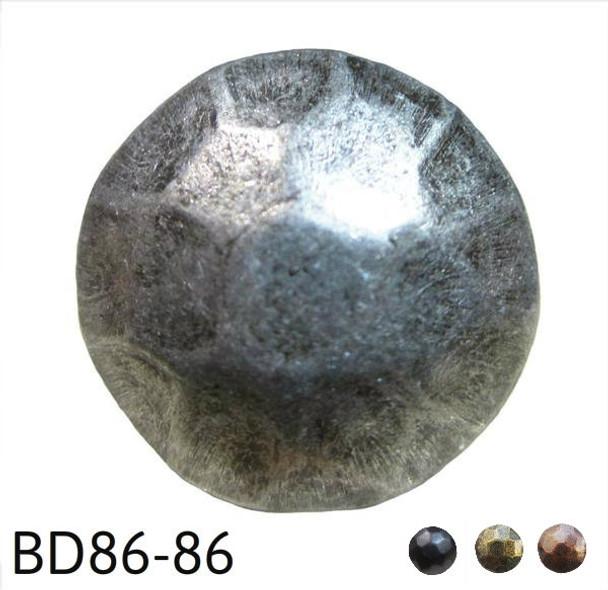"""BD86 - Hammered Circular Nail/Clavos Head - Head Size: 5/8"""" Nail Length: 5/8"""" - 50 per box"""