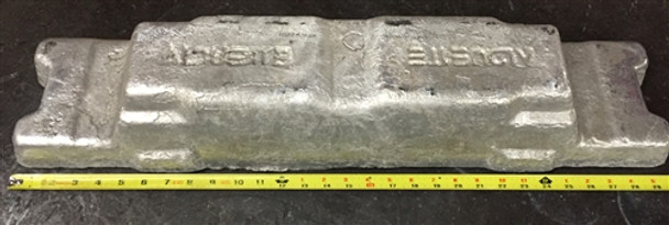 Aluminum Ingot 99.8% min ~ 50 Pounds