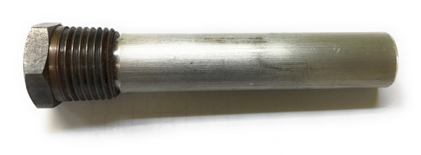 "Magnesium Pencil Anode 1/2"" NPT x 6"" Long"
