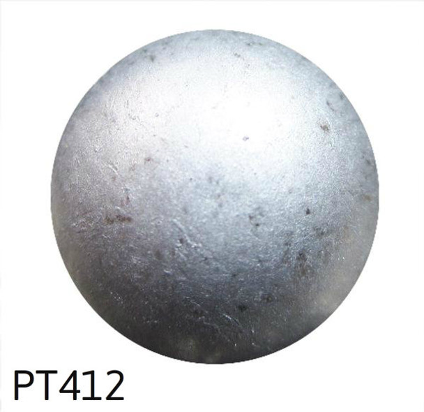 "PT412 - Pewter High Dome Nail/Clavos Head - Head Size: 5/8"" Nail Length: 5/8"" - 50 per box"