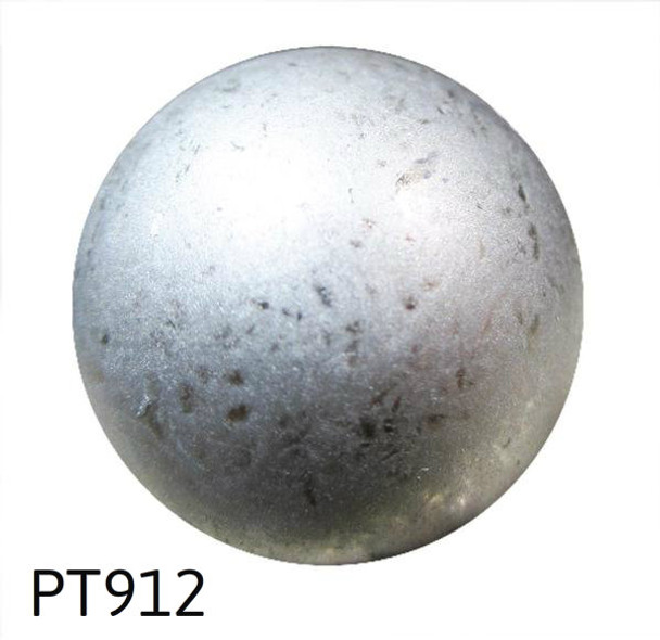 "PT912 - Pewter High Dome Nail/Clavos Head - Head Size: 7/16"" Nail Length: 1/2"" - 250/Box"