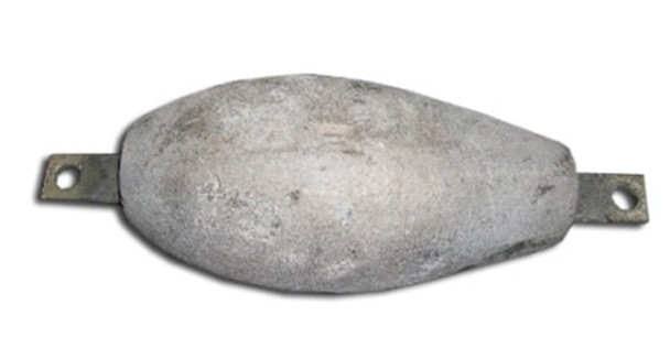Magnesium Teardrop 5 lb. Uncoated Anode