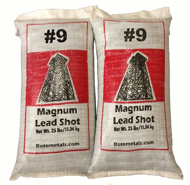 Magnum Lead Shot #9 50 lbs - Freight Included