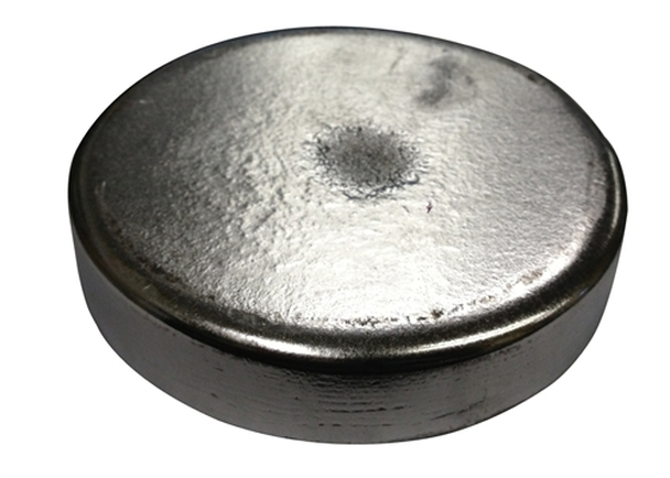 "Zinc Disc 4"" Diameter x 1"" Thick"