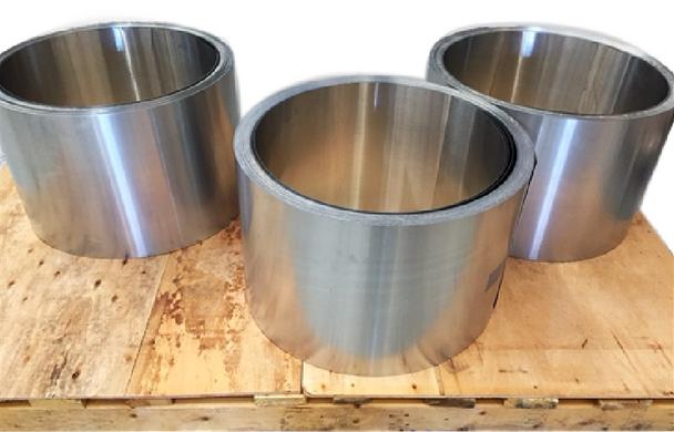 """Zinc Gutter Coil 16 oz x 11.75"""" for 5"""" Gutter Machines 300 Linear Feet"""