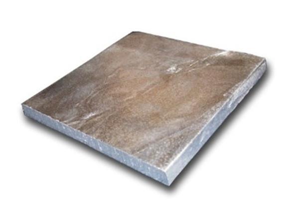 "Zinc Cast Plate - 3/4"" x 6"" x 6"""