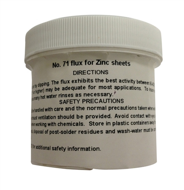 Zinc Sheet Solder Flux - 1.5 oz Bottle