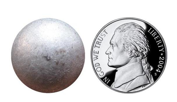 "BD21-95 - Pewter High Dome -  Head Size:13/16"" Nail Length:5/8"" - 40 per box"