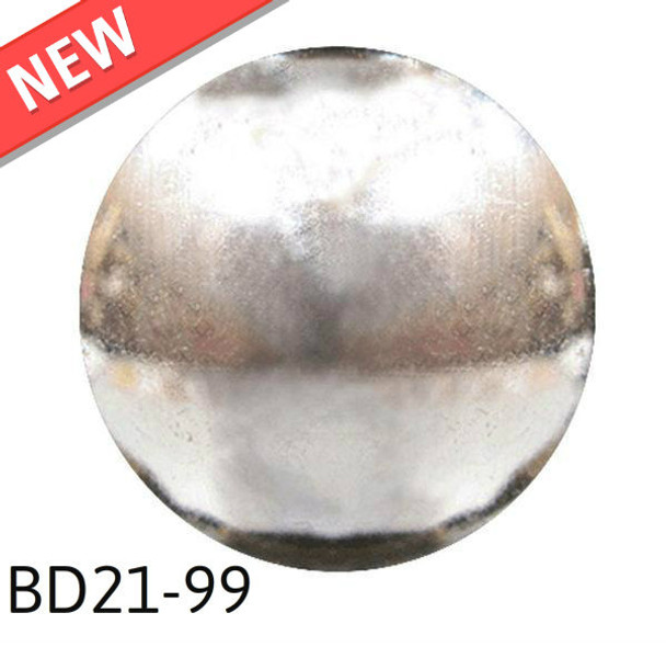 "BD21-99 - Polished High Dome - Head Size:13/16"" Nail Length:5/8"" 160 per box"