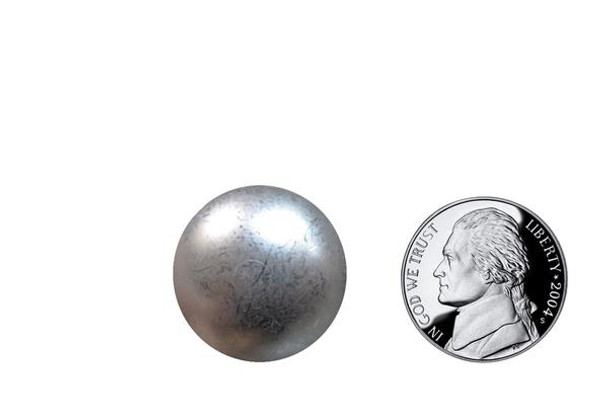 """PM50 - Glazed Pewter High Dome - Head Size:15/16"""" Nail Length:5/8"""" - 250 per box"""