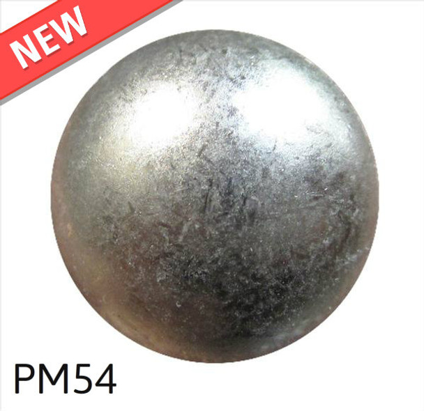 """PM54 - Glazed Pewter Low Dome - Head Size:5/8"""" Nail Length:5/8"""" - 500 per box"""