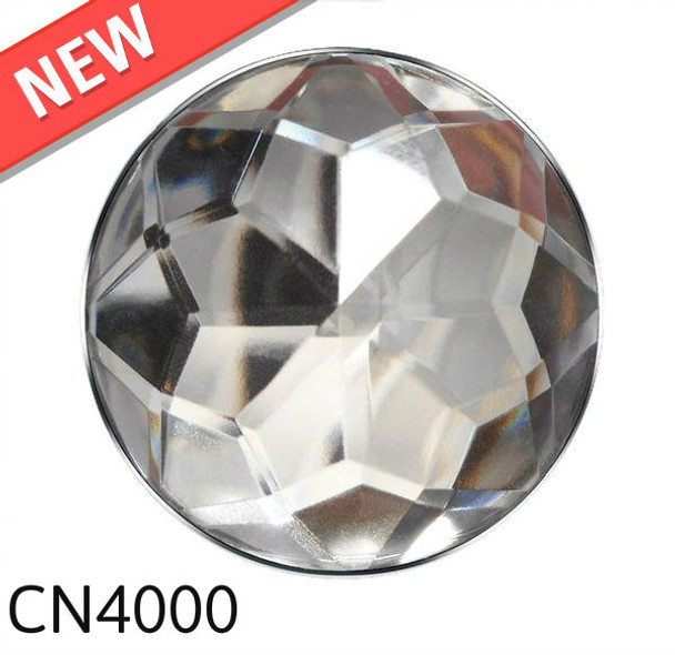 "Crystal Nail with Nickel Trim Head Size: 1"" Nail Length - 3/4"" 20 per box"