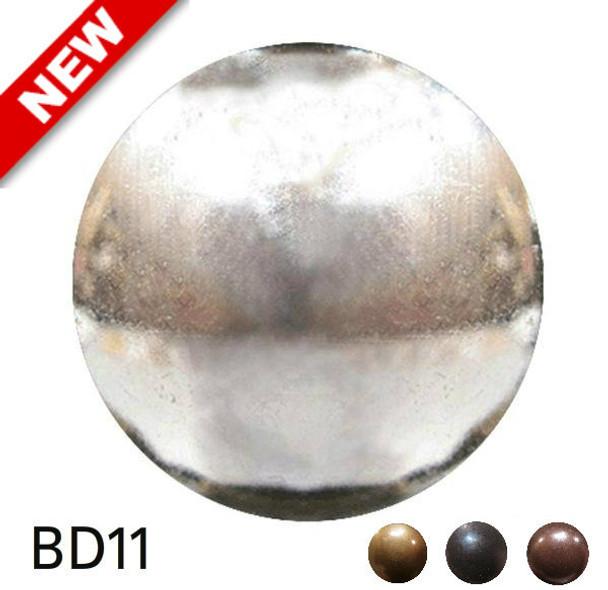 "BD11 - High Dome Nail - Head Size:3/8"" Nail Length:1/2"" - 500 per box"