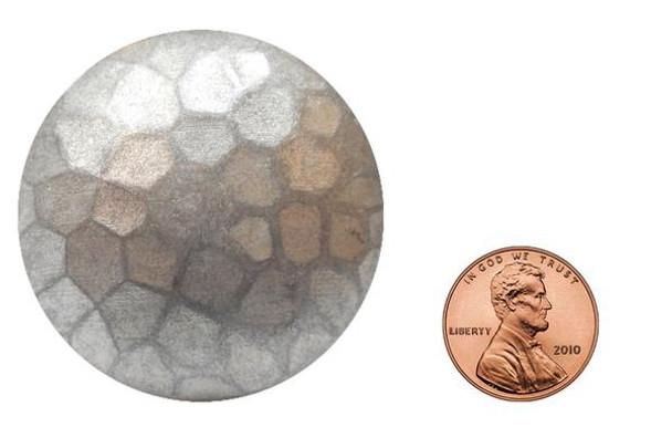 "BD40 - Medium Dome Nail with Textured Detail - Head Size: 1.6"" Nail Length: 7/8"" - 25 per box"