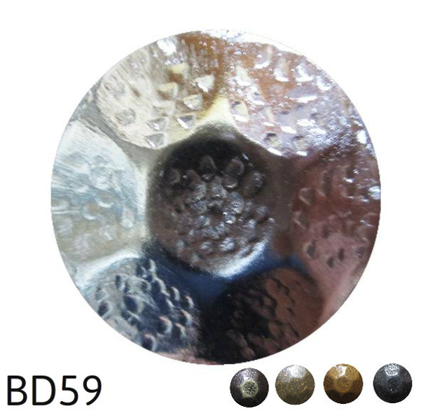 "BD59 - Hammered Circular Nail - Head Size: 1"" Nail Length: 5/8"" - 50 per box"