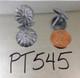 "PT545 - Pewter Daisy Nail/Clavos Head  - Head Size: 3/4"" Nail Length: 5/8"" - 50 per box"