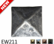 "EW211- Square Pyramid Nail/Clavos Head - Head Size: 1.16"" Nail Length: 3/4 - 18/box"