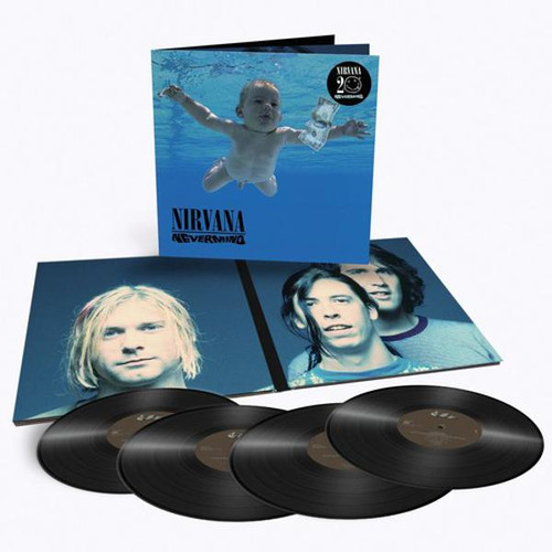 Nirvana Nevermind 4 Lp