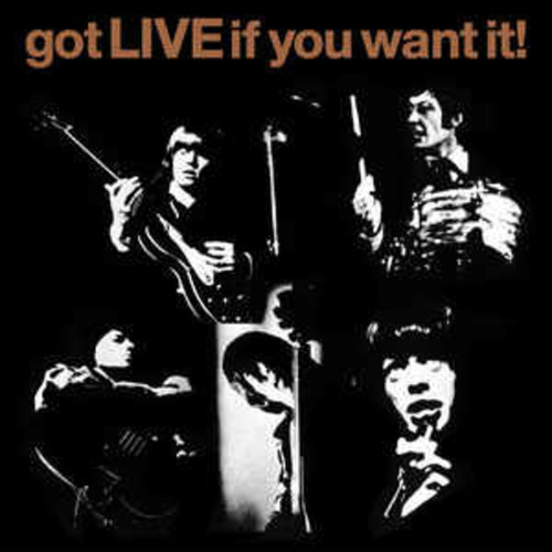 """The Rolling Stones - Gotta Live if you want 7"""""""