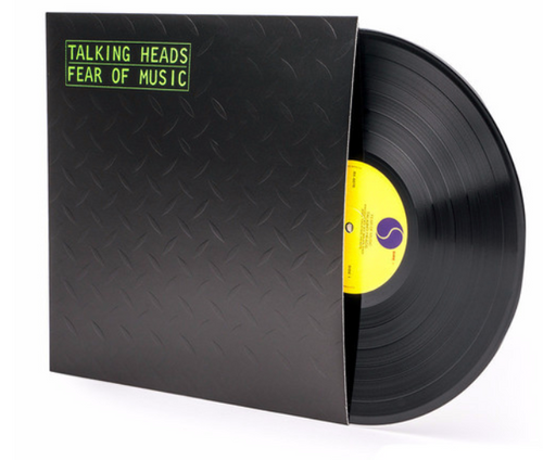 Talking Heads – Fear Of Music.   (Vinyl, LP, Album, Reissue, Embossed Sleeve)