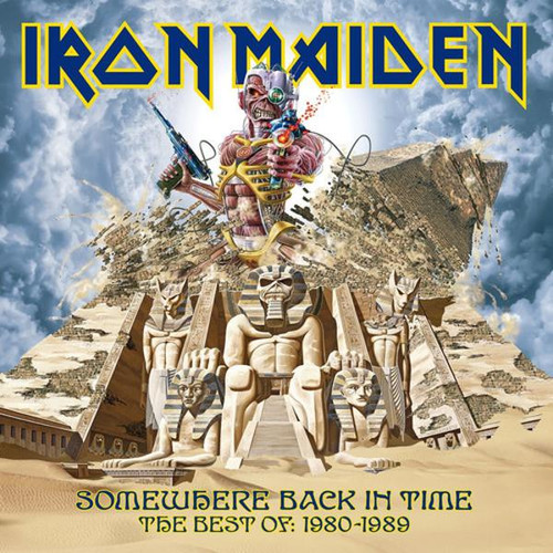 Iron Maiden - Somewhere Back In Time (VINYL LP)