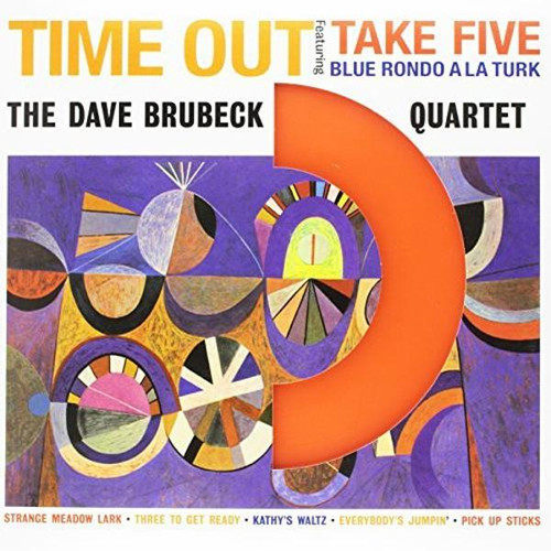 Dave Brubeck - Time Out Coloured (VINYL LP)