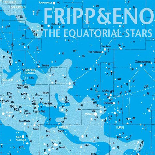 Brian Eno - Robert Fripp Equatorial Stars (LP)