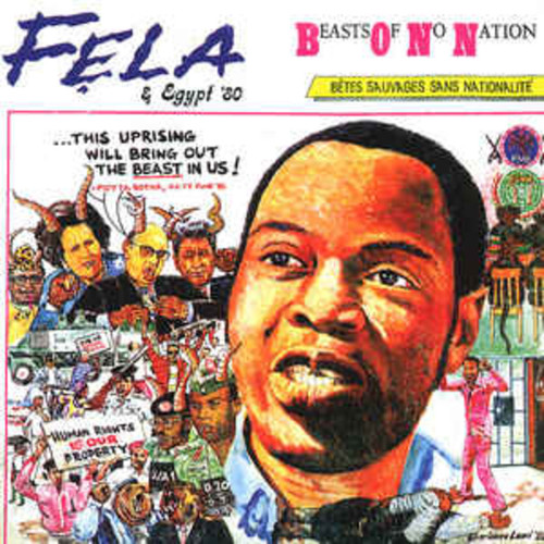 Fela Anikulapo-Kuti & Egypt '80 – Beasts Of No Nation (VINYL LP)