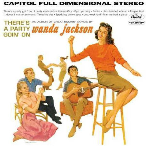 Wanda Jackson - There's A Pafrty Going On (VINYL LP)