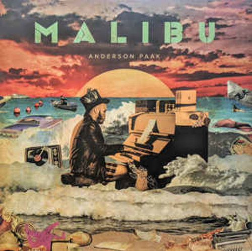 Anderson Pak - Malibu (LP)