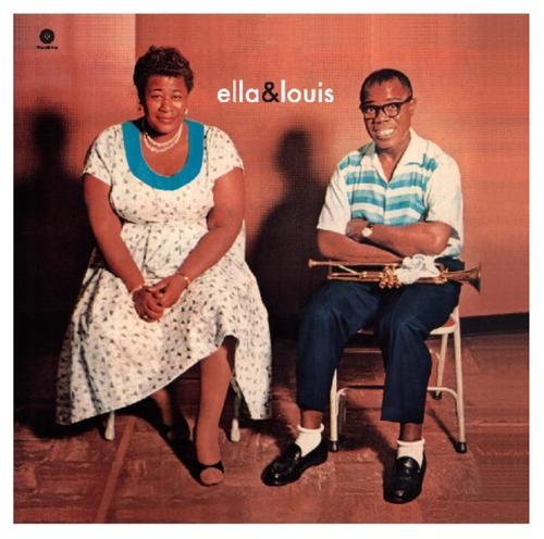 Ella Fitzgerald and Louis Armstrong - Ella and Louis   (VINYL LP)
