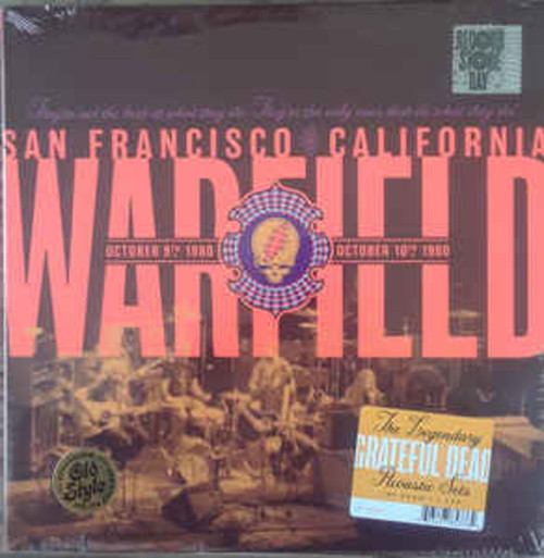 Grateful Dead ‎– The Warfield, San Francisco, CA 10/9/80 & 10/10/80 (2LP)