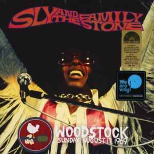 Sly & The Family Stone ‎– Woodstock Sunday August 17, 1969 (LP)