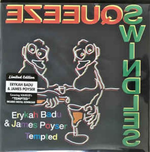 Erykah Badu & James Poyser - Tempted (VINYL LP)