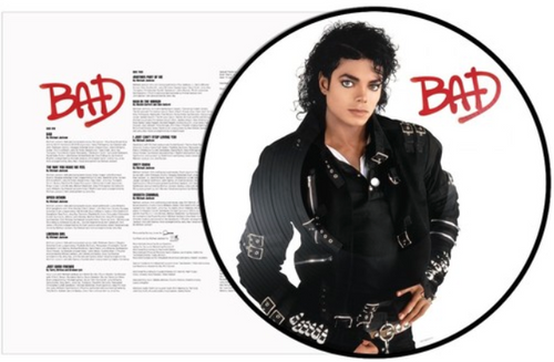 Michael Jackson - Bad Picture Disc   (VINYL LP)