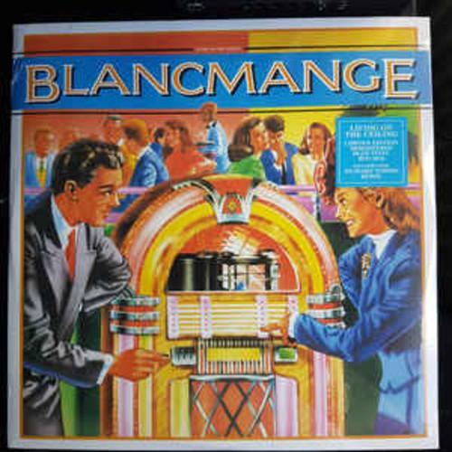 """Blancmange – Living On The Ceiling / Feel Me (12"""")"""