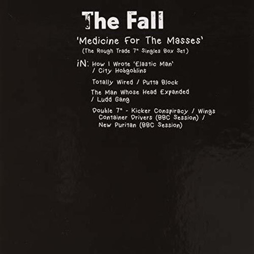 "The Fall Medicine for the Masses 7"" Fair Trade Box Set"
