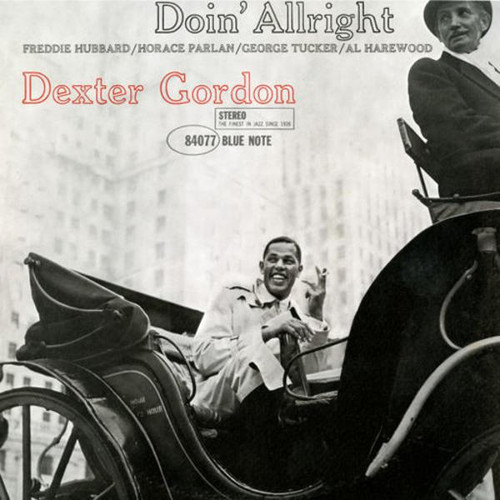 Dexter Gordon ‎– Doin' Allright (VINYL LP)