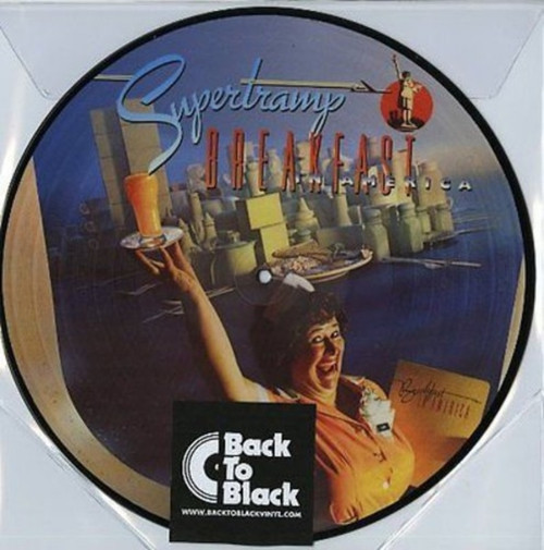 Supertramp ‎– Breakfast In America Picture Disc (VINYL LP)