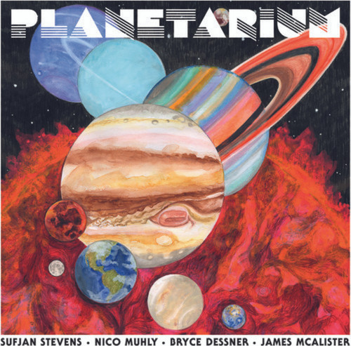Sufjan Stevens Planeterium (VINYL LP)