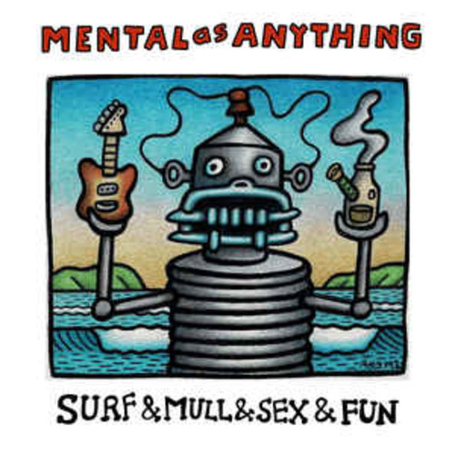 Mental As Anything ‎– Surf & Mull & Sex & Fun: The Classic Recordings Of Mental As Anything (VINYL LP)