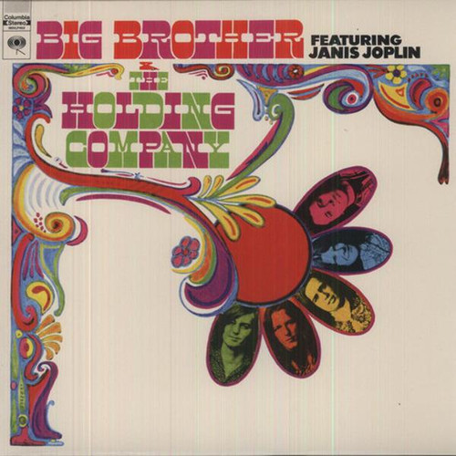 Big Brother & The Holding Company – Big Brother & The Holding Company Featuring Janis Joplin (LP)