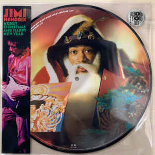 Jimi Hendrix ‎– Merry Christmas and Happy New Year (VINYL LP)